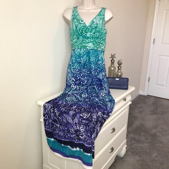 Chaps Dresses & Skirts - Take 40% Off Petite S Chaps Paisley Maxi Dress